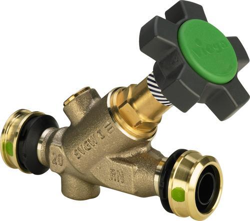 Easytop slanted seat valve  (free-flow valve), with SC‑Contur